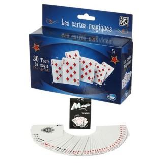 Coffret Magie - 30 Tours de magie - Tours de cartes
