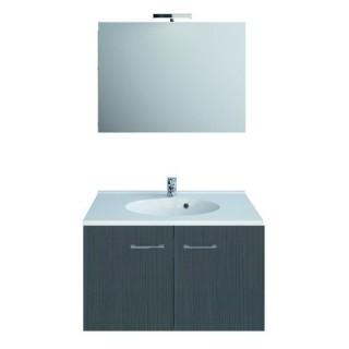 Ensemble de meubles Smart Pack - L. 80 cm - Chêne gris