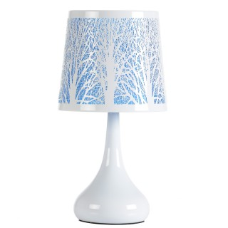 Lampe White Touch - Arbre - Turquoise