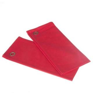 2 Torchons - Coton - Rouge