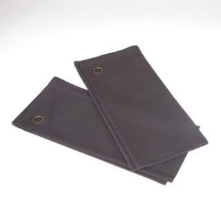 2 Torchons - Coton - Gris