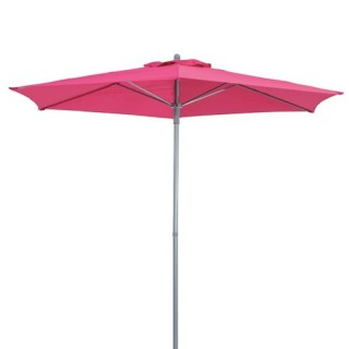 Parasol droit Anzio - 2,3 m - Framboise