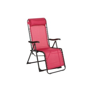Fauteuil Relax Silos - Framboise