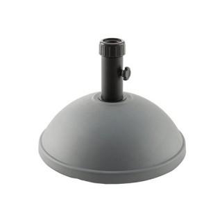 Pied de Parasol Dome - 25 kg. - Gris