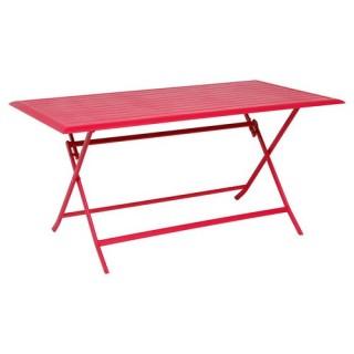 Table pliante Azua - 6 Places - Cerise