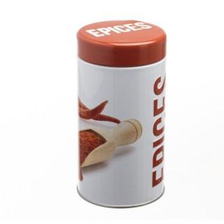 Boîte à épices Relief - Métal