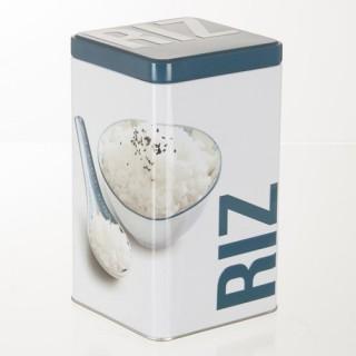 Boîte à riz Relief - Métal
