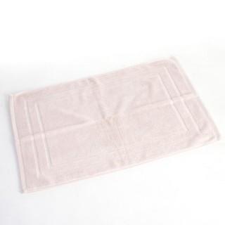 Tapis de bain - 70 x 50 cm. - Rose poudré