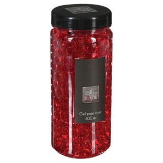 Gel pour vase Crystal - 400 ml. - Rouge