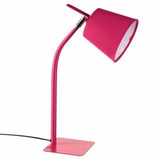 Lampe métal couleur - H. 40 cm. - Fuchsia