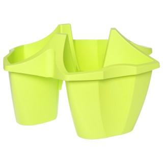 Jardinière Artigas - 3 Compartiments - Vert