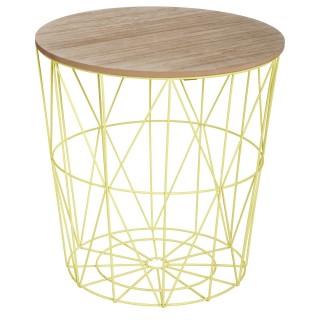 Table à café Kumi - Metal - Vert