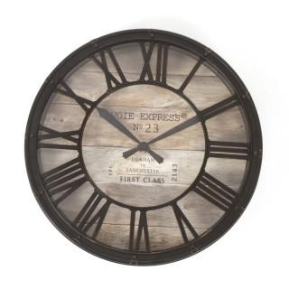 Pendule Vintage - Diam. 39 cm. - Plastique