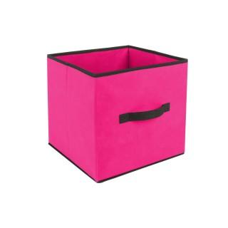 Boîte de Rangement - 31 x 31 cm. - Framboise