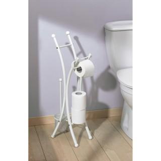 Valet WC Corfou - Blanc