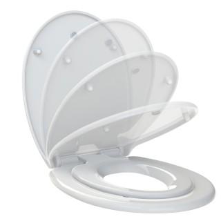 Abattant WC Kids - Réducteur intégré - Blanc