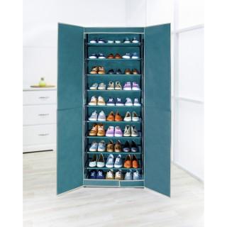 Armoire à chaussures en tissus - 30 paires - 61 x 160 cm