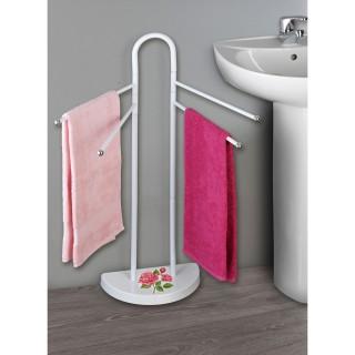 Porte-serviettes - Rose Romantique