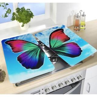 2 Couvre-plaques universel - Papillon diurne