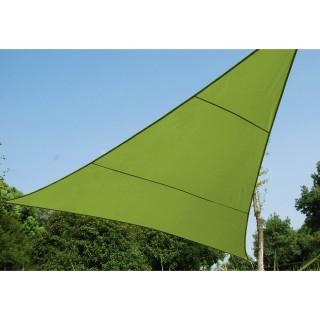 Toile solaire / Voile d'ombrage Anori - 2 x 2 x 2 m. - Vert