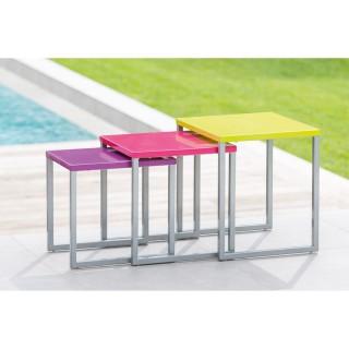 Tables gigognes Manaus - Multicolore