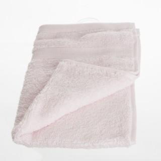 Serviette de toilette - 50 x 30 cm. - Rose