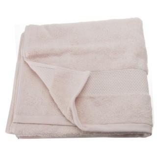 Serviette de toilette Coton peigné - 90 x 50 cm. - Rose