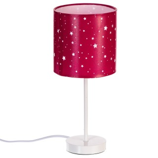 Lampe avec Abat jour imprimé - Fuchsia
