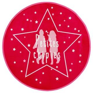 Tapis microfibre Girls - Diam. 70 cm.