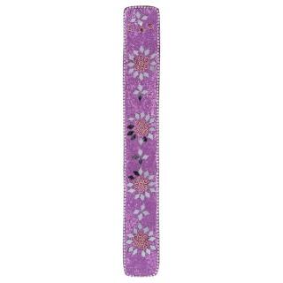 Support perles pour bâtons d'encens - Violet