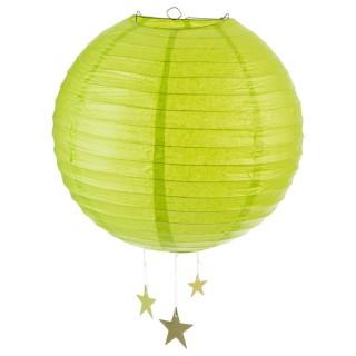 Lanterne Boule - Diam. 35 cm. - Vert