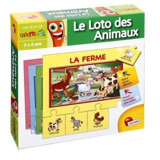 Jeu éducatif puzzle mes 1ers mots - Le loto des animaux