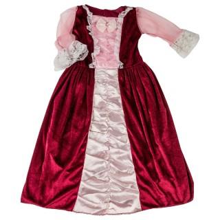 Deguisement de princesse Robe de luxe - Velours