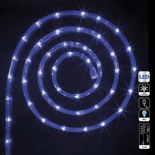 Guirlande tube LED d'extérieur - 10 m. - Bleu