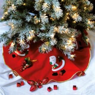 Tapis de sapin - Père Noël