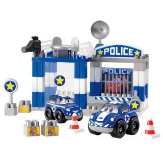 Jeu de construction Bloc - 57 Pièces - Police