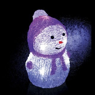 Décoration de Noël Lumineuse - 8 LED - Violet