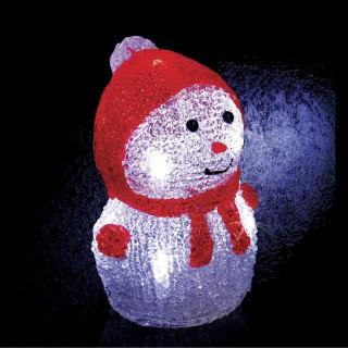 Décoration de Noël Lumineuse - 8 LED - Rouge