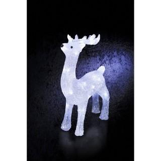 Décoration de Noël d'extérieur Lumineuse - Renne
