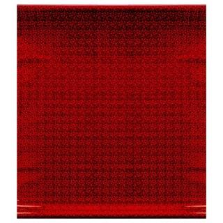 Papier cadeau Métallique - Holographique - Rouge
