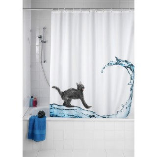 Rideau de douche Cat