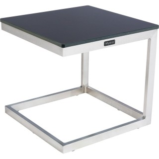 Table d'appoint Ambrosio - 40 X 40 cm - Anthracite