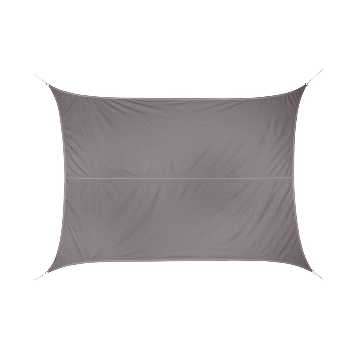 Voile D Ombrage 6 X 4 toile solaire / voile d'ombrage anori - 3 x 4 m - taupe