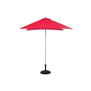 Parasol droit Anzio - 2 x 2 m - Framboise