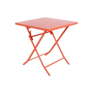 Table pliante carrée Greensboro - 2 Places - Potiron