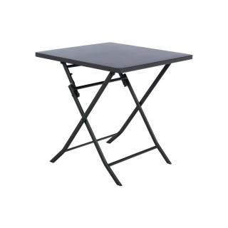 Table pliante carrée Greensboro - 2 Places - Graphite
