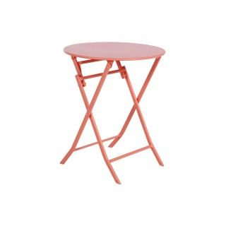 Table pliante ronde Greensboro - 2 Places - Corail