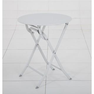 Table pliante ronde Greensboro - 2 Places - Galet