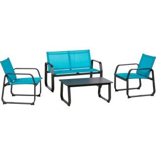 Salon de jardin pour un extérieur haut en couleur (2) - DecoAndGo