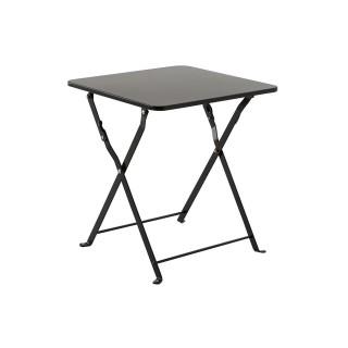 Table d'appoint de jardin Nindiri - 40 x 40 cm - Noire